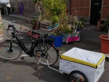 atelier des langes vélo remorque livraison à domicile couches lavables